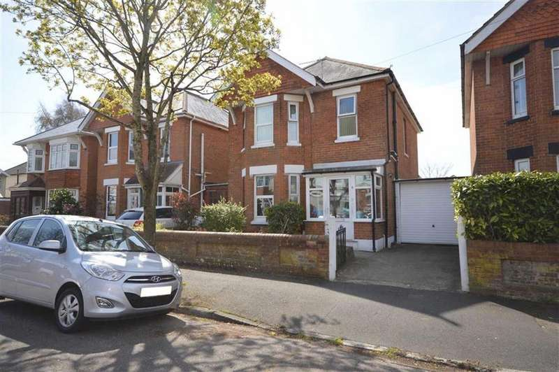 3 Bedrooms Detached House for sale in Cowper Road, Bournemouth, BH9