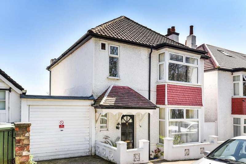 4 Bedrooms Detached House for sale in Ross Road, South Norwood