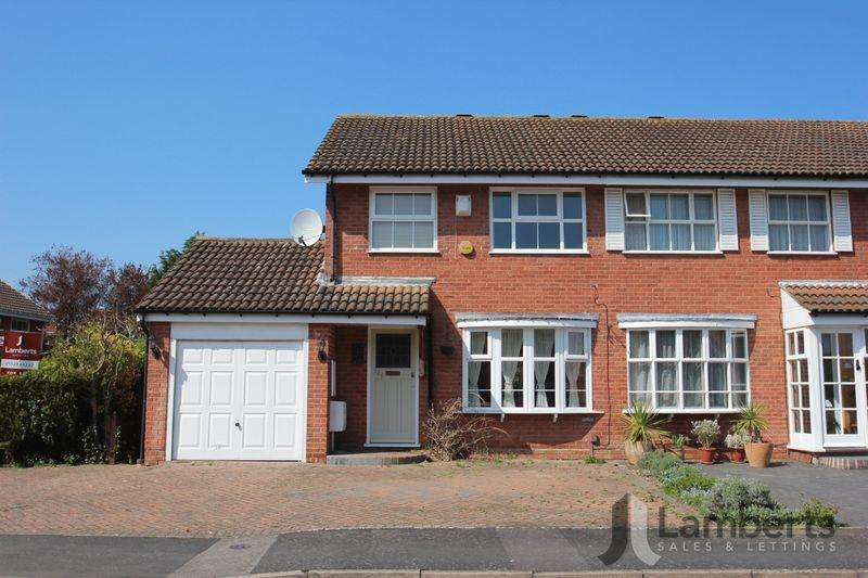 3 Bedrooms Semi Detached House for sale in Maisemore close, redditch
