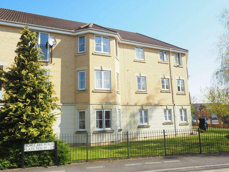 2 Bedrooms Apartment Flat for sale in Scholars Walk, Langley