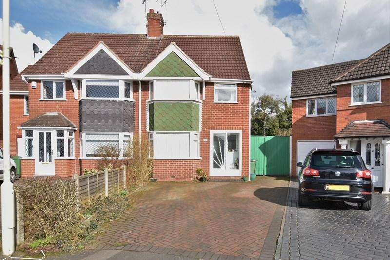 3 Bedrooms Semi Detached House for sale in Corville Road, Halesowen