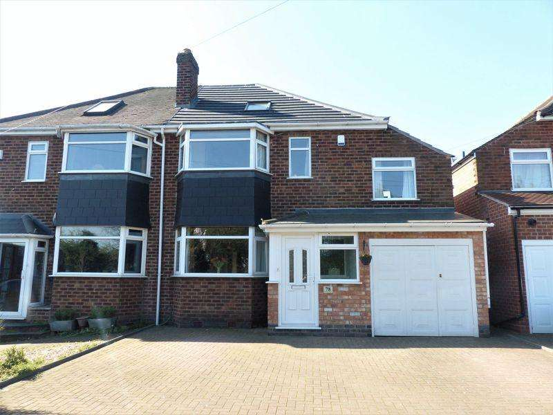 4 Bedrooms Semi Detached House for sale in Walmley Ash Road, Sutton Coldfield