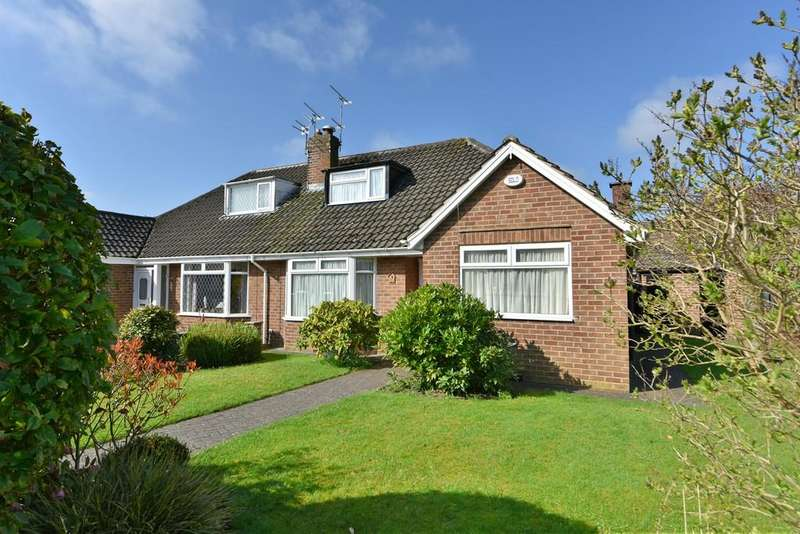 3 Bedrooms Semi Detached Bungalow for sale in The Serpentine, Aughton