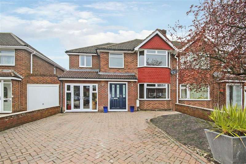 4 Bedrooms Semi Detached House for sale in Bucklebury Close, Stratton, Wiltshire