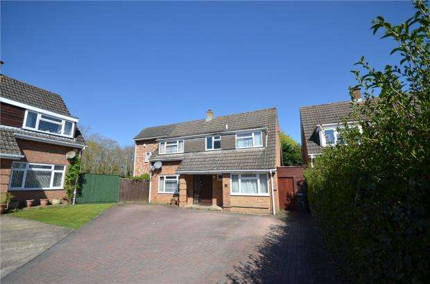 5 Bedrooms Detached House for sale in Mercer Close, Basingstoke, Hampshire