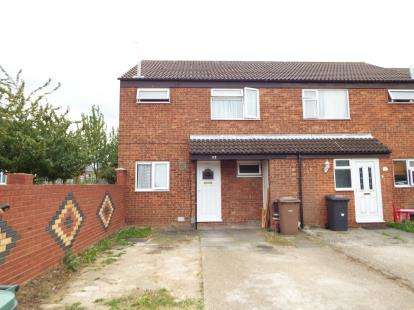 3 Bedrooms End Of Terrace House for sale in Peregrine Road, Luton, Bedfordshire, England