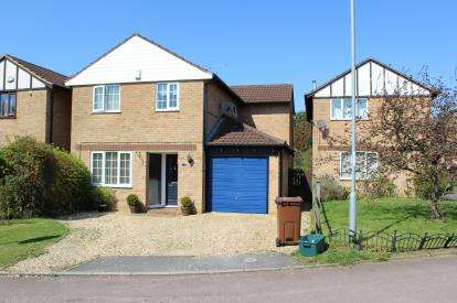 4 Bedrooms Detached House for sale in St. Emilion Close, Northampton, Northamptonshire