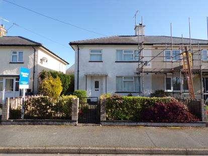 3 Bedrooms Semi Detached House for sale in Ffordd Glasgoed, Caernarfon, Gwynedd, LL55
