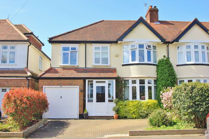 5 Bedrooms Semi Detached House for sale in Surbiton