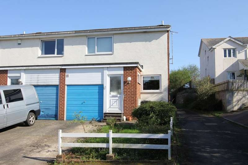 3 Bedrooms Semi Detached House for sale in Keyberry Mill, Newton Abbot
