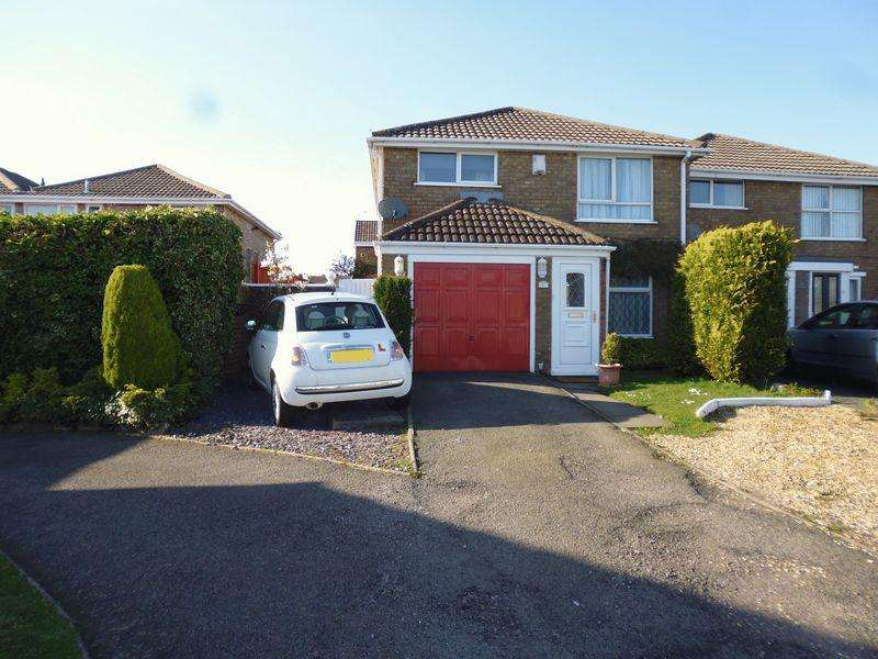 3 Bedrooms Semi Detached House for sale in Cumberland Drive, Lindley Park, Nuneaton