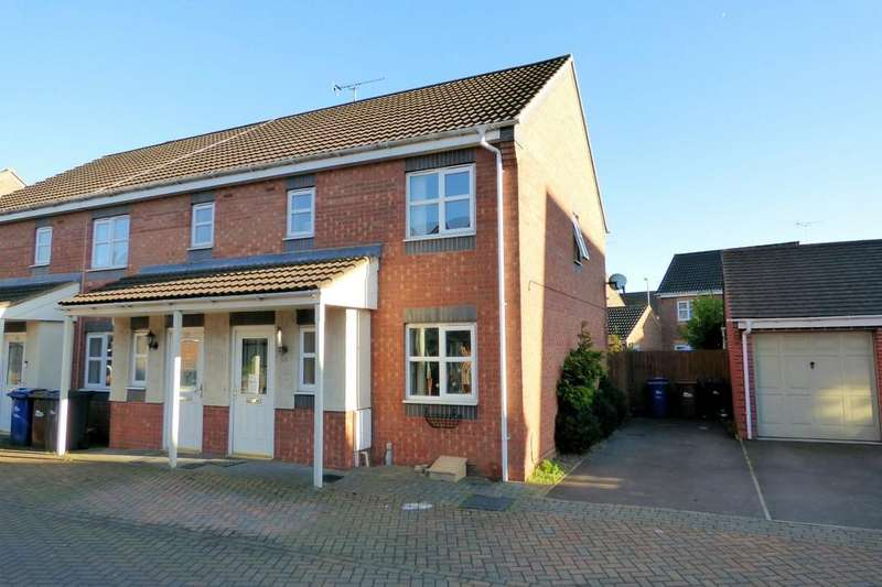 3 Bedrooms End Of Terrace House for sale in Castilla Place, Burton On Trent