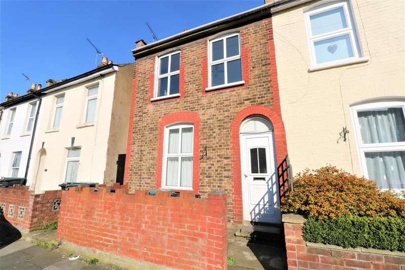2 Bedrooms End Of Terrace House for sale in Cutmore Street, Gravesend