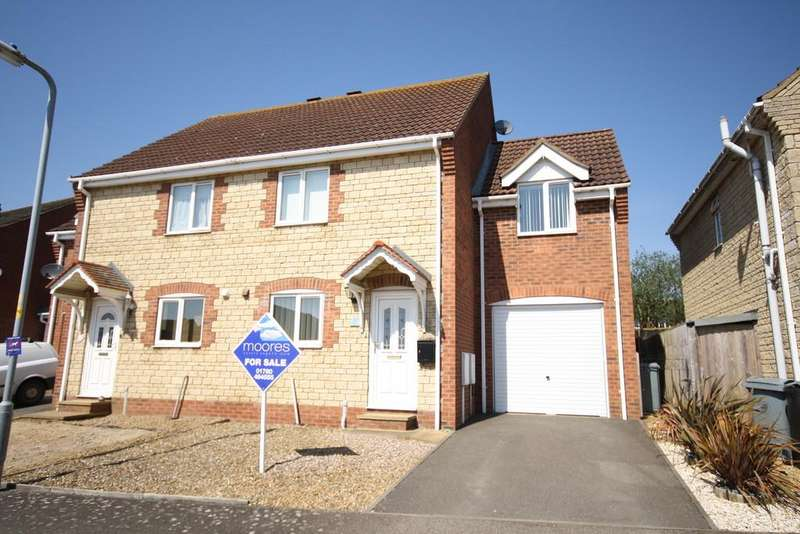 3 Bedrooms Semi Detached House for sale in Coverley Road, South Witham