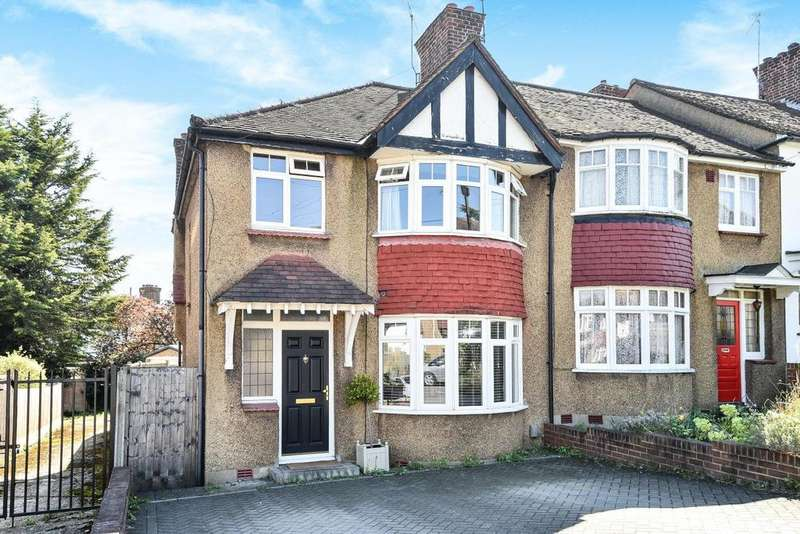 3 Bedrooms Semi Detached House for sale in Old Farm Avenue, Southgate