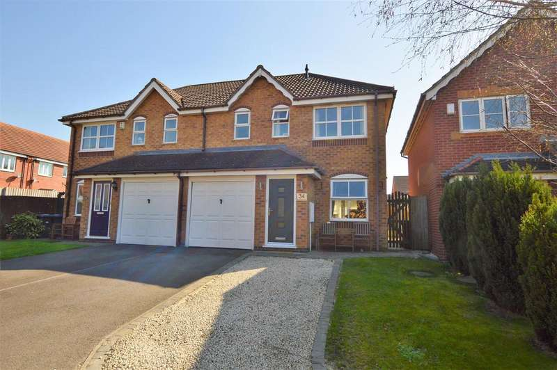 3 Bedrooms Detached House for sale in Thistle Bank, East Leake, Loughborough