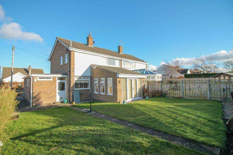 3 Bedrooms Semi Detached House for sale in Quarry Road, Ripon
