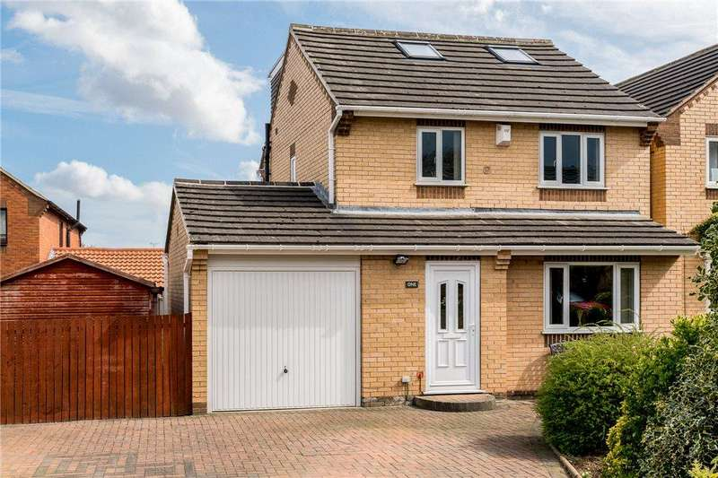 3 Bedrooms Detached House for sale in Glebe Field Chase, Wetherby, West Yorkshire