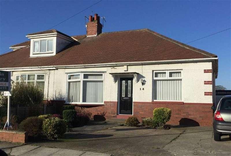 2 Bedrooms Semi Detached Bungalow for sale in Fairholme Avenue, South Shields