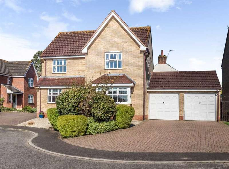 4 Bedrooms Detached House for sale in Columbine Road, Horsford