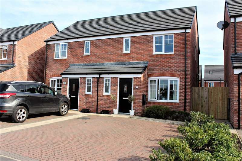 3 Bedrooms Semi Detached House for sale in Walnutwood Avenue, Bamber Bridge, Preston