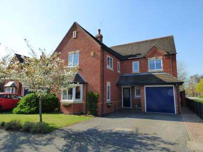 4 Bedrooms Detached House for sale in Maple Drive, Aston-On-Trent, Derby, Derbyshire