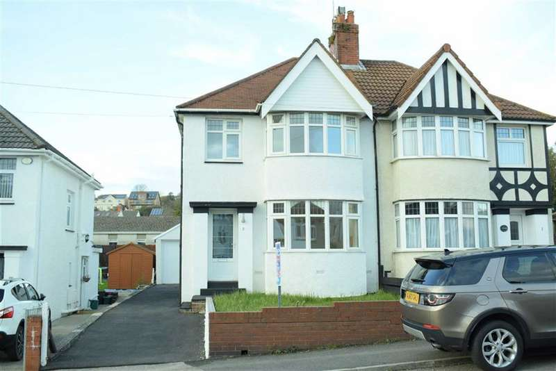 3 Bedrooms Semi Detached House for sale in Harlech Crescent, Sketty