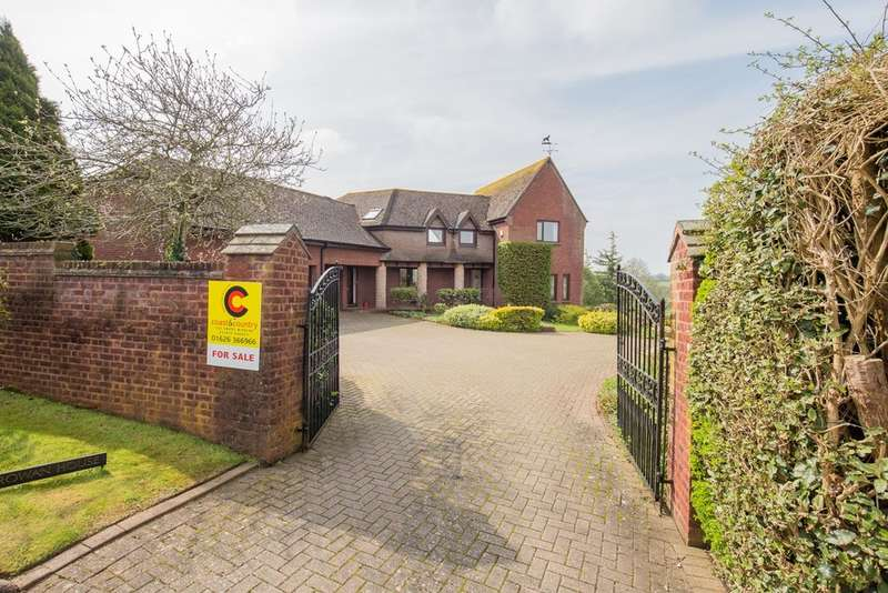 5 Bedrooms Detached House for sale in Ogwell Green, Ogwell
