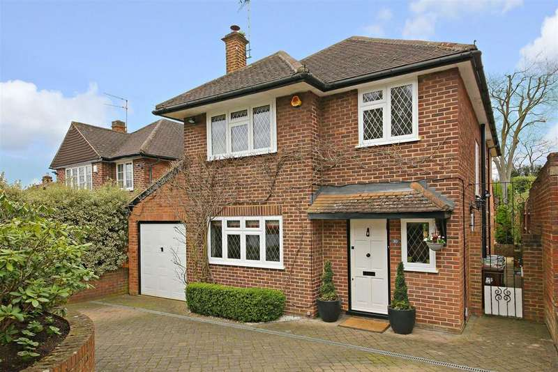 4 Bedrooms Detached House for sale in Craigweil Avenue, Radlett