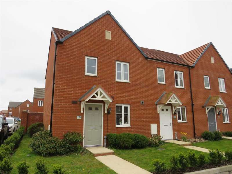 3 Bedrooms End Of Terrace House for sale in Stryd Bennett, Parc Y Strade, Llanelli