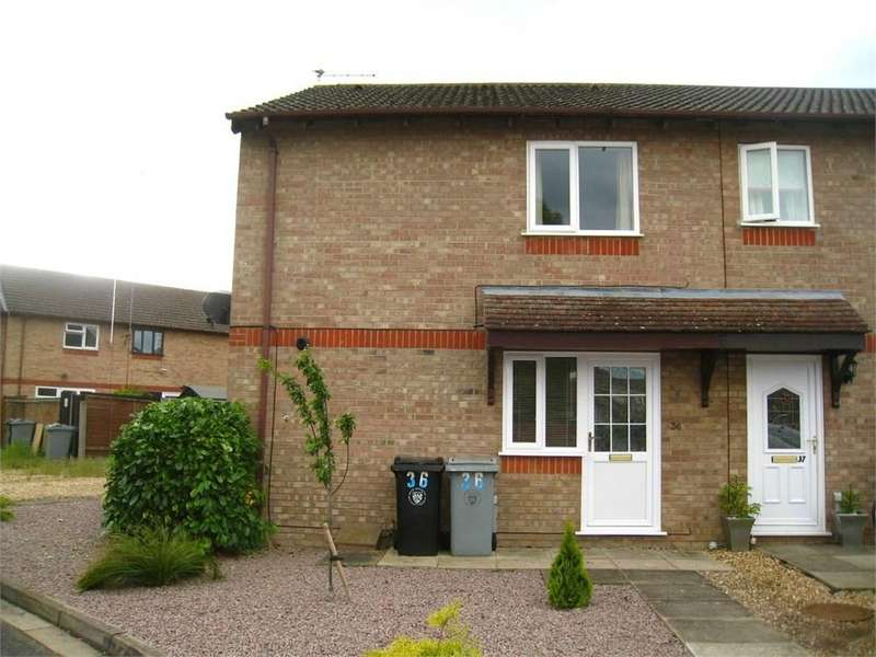 1 Bedroom End Of Terrace House for sale in The Brambles, Deeping St James, PE6