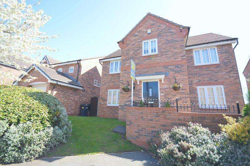 4 Bedrooms Detached House for sale in Rosewood Grove, Widnes