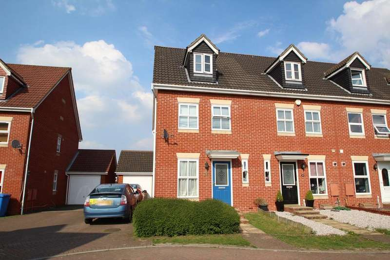 3 Bedrooms Town House for sale in Tanners View, Ipswich, IP1