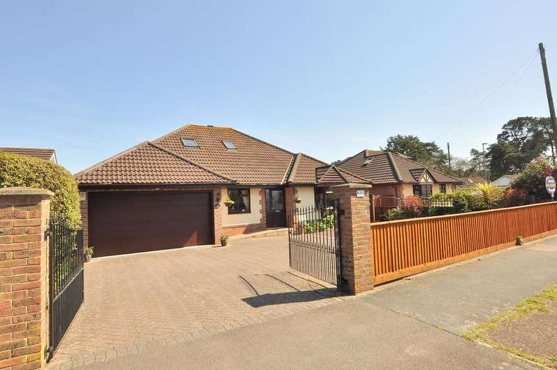 5 Bedrooms Detached Bungalow for sale in Pinehurst Road, West Moors