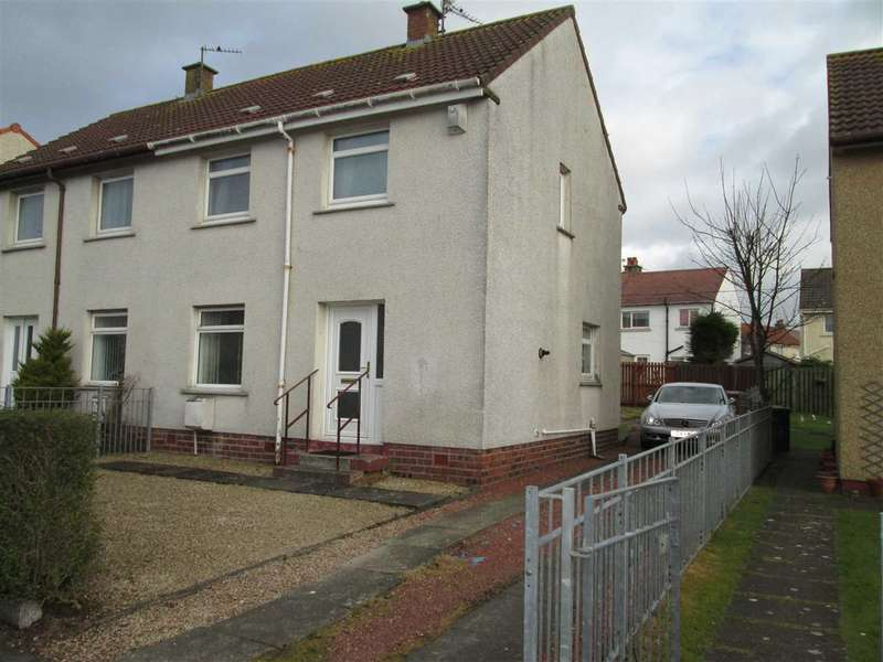2 Bedrooms Semi Detached House for rent in St Andrews Road, Ardrossan