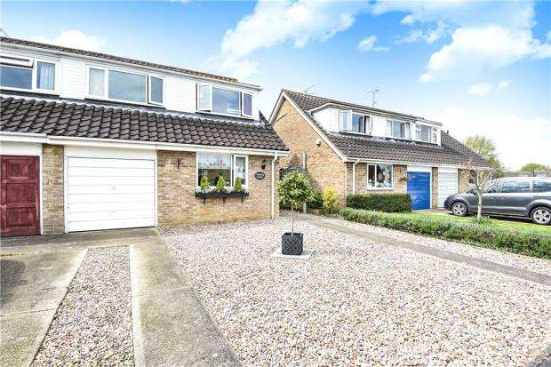 4 Bedrooms Semi Detached House for sale in Telford Crescent, Woodley, Reading