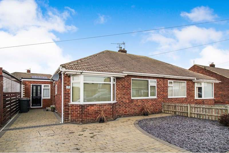 2 Bedrooms Bungalow for sale in Longhirst Drive, Wideopen, Newcastle upon Tyne, Tyne and Wear, NE13 6JW