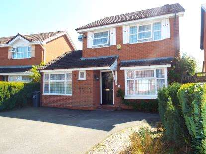 3 Bedrooms Detached House for sale in Glaston Drive, Hillfields, Solihull, West Midlands