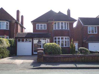 3 Bedrooms Detached House for sale in Boscobel Road, Walsall, West Midlands