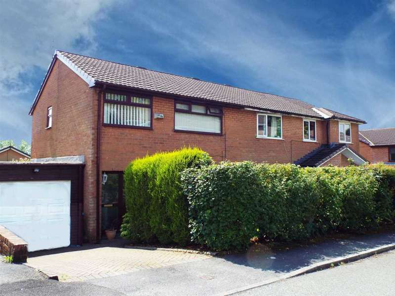 3 Bedrooms Semi Detached House for sale in Higher Rise, High Crompton