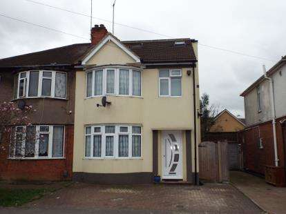 4 Bedrooms Semi Detached House for sale in Beechwood Road, Luton, Bedfordshire, England