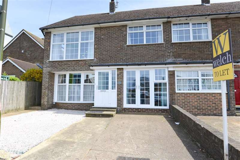 4 Bedrooms Semi Detached House for rent in Southwick Street, Southwick, West Sussex, BN42 4AD