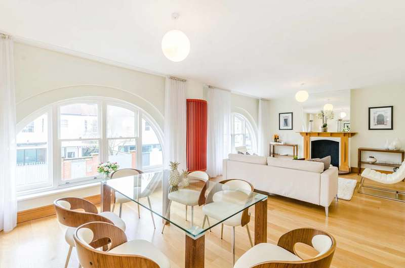 3 Bedrooms Flat for sale in Eton Garages, Belsize Park, NW3