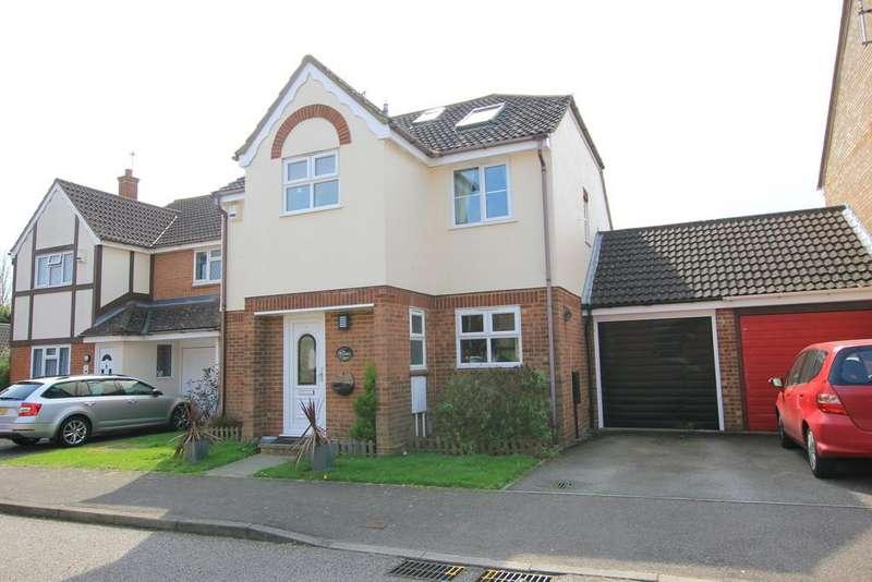5 Bedrooms Link Detached House for sale in Hayfield, Stevenage