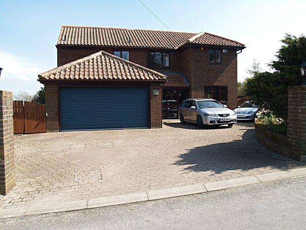 4 Bedrooms Detached House for sale in HIGH VIEW HOUSE, BRANDON VILLAGE, DURHAM CITY : VILLAGES WEST OF