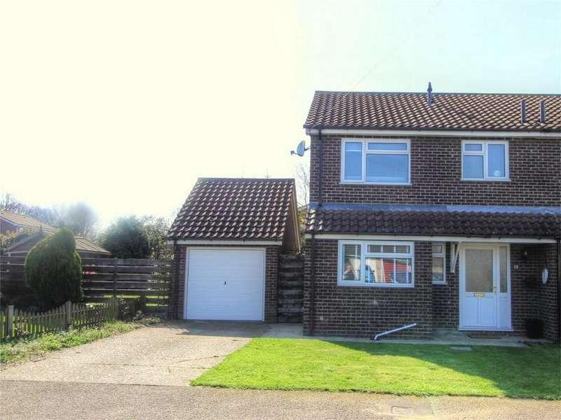 3 Bedrooms Semi Detached House for sale in Mortimer Close NR17 2NX, ATTLEBOROUGH, ATTLEBOROUGH, Norfolk