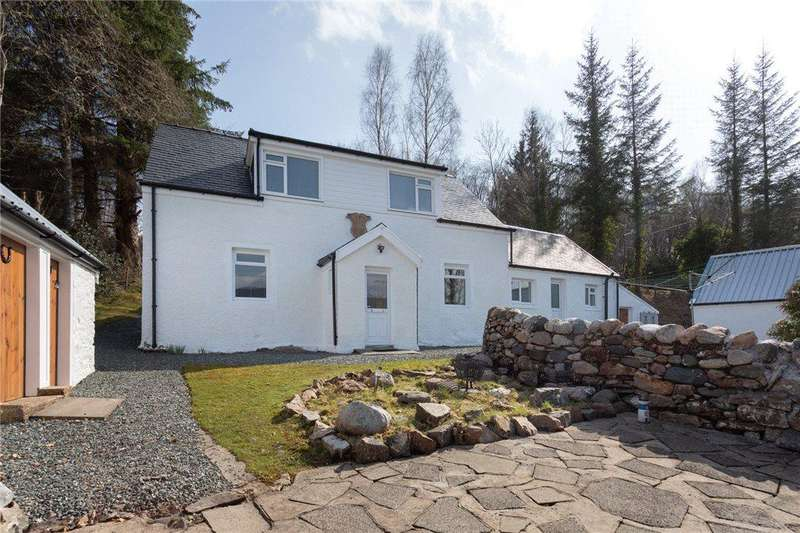 3 Bedrooms Detached House for sale in St. Catherines, Nr Strachur, Cairndow, Argyll and Bute