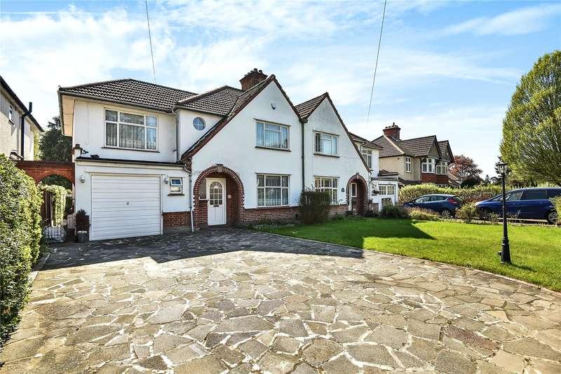 5 Bedrooms Semi Detached House for sale in Court Road, Ickenham, Uxbridge, Middlesex, UB10