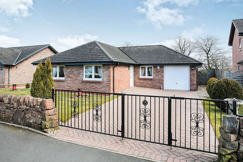 3 Bedrooms Detached Bungalow for sale in Woodlands Drive, Lochmaben, Lockerbie, DG11