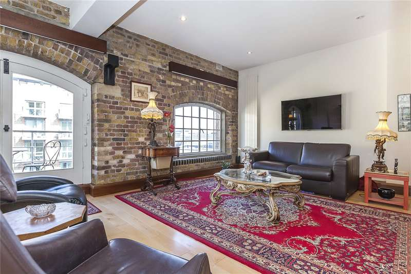 2 Bedrooms Flat for sale in New Concordia Wharf, Mill Street, London, SE1